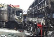 Hiện trường tai nạn thảm khốc ở Bình Thuận, 12 người chết