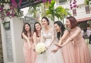 Á hậu Ngô Trà My rạng ngời hạnh phúc trong ngày cưới