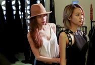 The Face: Huấn luyện viên  làm stylist cho thí sinh ở tập 2