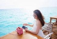 Á hậu Tú Anh đi Maldives nghỉ dưỡng với bạn trai mới
