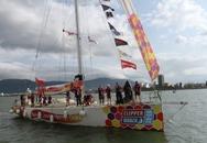 12 thuyền buồm Clipper diễu hành trên sông Hàn Đà Nẵng