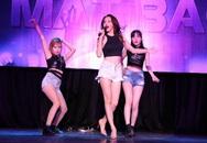 Hậu chia tay, Hương Giang Idol nhảy bốc lửa trên sàn diễn