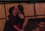 Lộ clip Trường Giang - Nhã Phương ôm hôn nhau mùi mẩn trong quán ăn