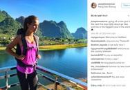 Thiên thần mới của Victoria's Secret ngỡ ngàng vì vẻ đẹp Việt Nam