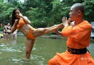 Nữ cứu hộ mặc bikini học võ Thiếu Lâm tại Trung Quốc