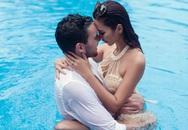 Hà Anh diện bikini chụp ảnh cưới cùng chồng Tây