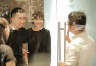 Trấn Thành - Hari Won âu yếm tình cảm trong ngày thử đồ cưới