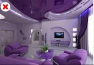 10 cách phối màu phá hỏng không gian nhà bạn