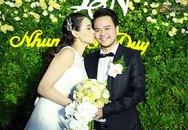 Trang Nhung và con gái rạng rỡ trong đám cưới ở Hà Nội
