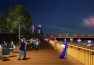 Huế sẽ có cầu đi bộ lát gỗ lim rộng 4m dọc bờ sông Hương?