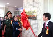 Bộ trưởng Nguyễn Thị Kim Tiến cắt băng khánh thành khu nhà kỹ thuật nghiệp vụ y tế hiện đại