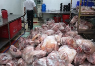 Phát hiện gần 2 tấn thịt thối tuồn ra thị trường