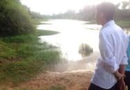 Tắm sông, một học sinh bị chết đuối thương tâm