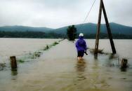 Mưa lớn liên tục, nhiều nơi ở Quảng Bình lại ngập nặng
