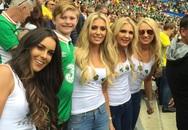 EURO 2016: Dàn WAGs xinh đẹp đã động viên cổ vũ các danh thủ ra sao?
