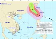 Một siêu bão đang đi nhanh vào biển Đông
