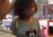 Bị bắt quả tang ăn cắp điện thoại, cô gái trẻ lãnh nhiều cú tát liên tiếp