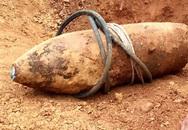 Phát hiện quả bom 500 kg khi đào ao
