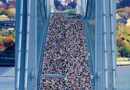 50.000 người cùng chạy qua cây cầu nổi tiếng New York