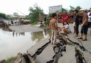 Giao thông sẽ tê liệt lâu dài vì sạt lở đường dẫn cầu phao nối Hải Phòng - Thái Bình