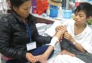 Cậu học trò giỏi nguy cơ mất 1 chân vì không có nổi 10 triệu đồng phẫu thuật