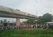 Chạy xe máy lên cầu vượt cao tốc, người đàn ông nhảy xuống tự sát