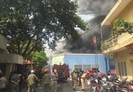 Hà Nội: Cháy dữ dội ở đường Trường Chinh, hàng chục nhân viên văn phòng tháo chạy