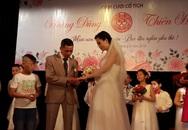 Đám cưới đặc biệt trong bệnh viện của bệnh nhân bị tan máu bẩm sinh