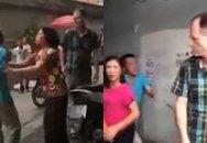 Chứng kiến cảnh chồng đánh vợ, ông Tây lao vào can ngăn