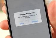 Cách xử lý cực đơn giản khi smartphone hết dung lượng