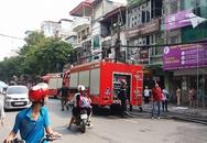 Hà Nội: Cháy cửa hàng thời trang gần Văn miếu Quốc Tử Giám