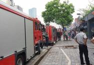 Hà Nội: Cháy lớn ở nhà hàng bia Vuvuzela