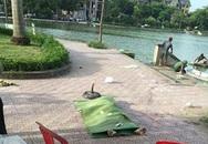 Hà Nội: Ngồi câu cá, hoảng hồn phát hiện thi thể nam thanh niên bên hồ
