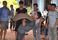 """Xem người quê chơi pháo đất """"khủng"""" ở chùa Phúc Linh"""