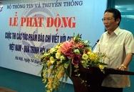 """Phát động cuộc thi viết """"Việt Nam - Quá trình hội nhập quốc tế"""""""