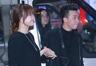Trấn Thành, Hariwon tình tứ bên nhau đi ra mắt phim