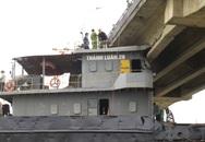 Sẽ cắt nóc cabin để giải phóng tàu đâm gãy cầu An Thái
