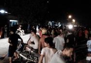 Người dân vây hiện trường tai nạn do nghi CSCĐ truy đuổi