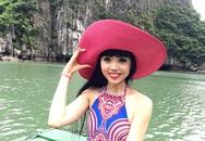 Siêu mẫu nổi tiếng gốc Việt thích thú khi được đến thăm Vịnh Hạ Long