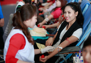Nguyễn Thị Loan tham gia hiến máu lần thứ 11