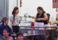 Midu và Phan Thành quấn quýt nhau cực tình cảm trong quán ăn