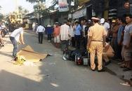 Nam thanh niên chết thảm sau khi bị container kéo lê nhiều mét trên đường