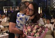 Chồng đẹp trai giàu có của siêu mẫu Ngọc Thạch tổ chức sinh nhật ấm áp cho vợ