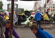 Chơi tàu lượn siêu tốc, nhiều trẻ em bị thương nặng