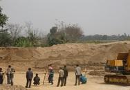 Bãi cát trái phép bị cấm ngay khi chủ tịch huyện kiểm tra