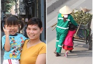Tìm thấy cô bé đẩy xe rác giúp mẹ làm cộng đồng rưng rưng