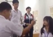 Nam sinh Sơn La tát bạn gái trong lớp học gây phẫn nộ