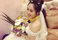 """Ghen tị với cô dâu """"phát khổ"""" vì vàng đeo trĩu cổ trong ngày cưới"""