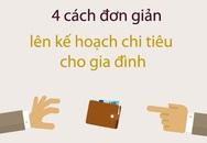 4 cách chi tiêu khỏi lo hết tiền