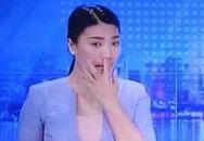 MC Tuyết Vinh vô tư ngoáy mũi trên sóng truyền hình